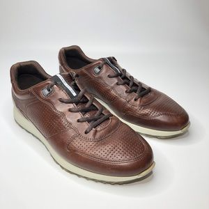ECCO Soft 7 Runner Perforated Leather Sneakers 43